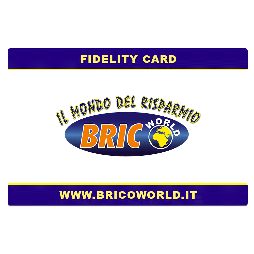 bricoworld carta fidelta